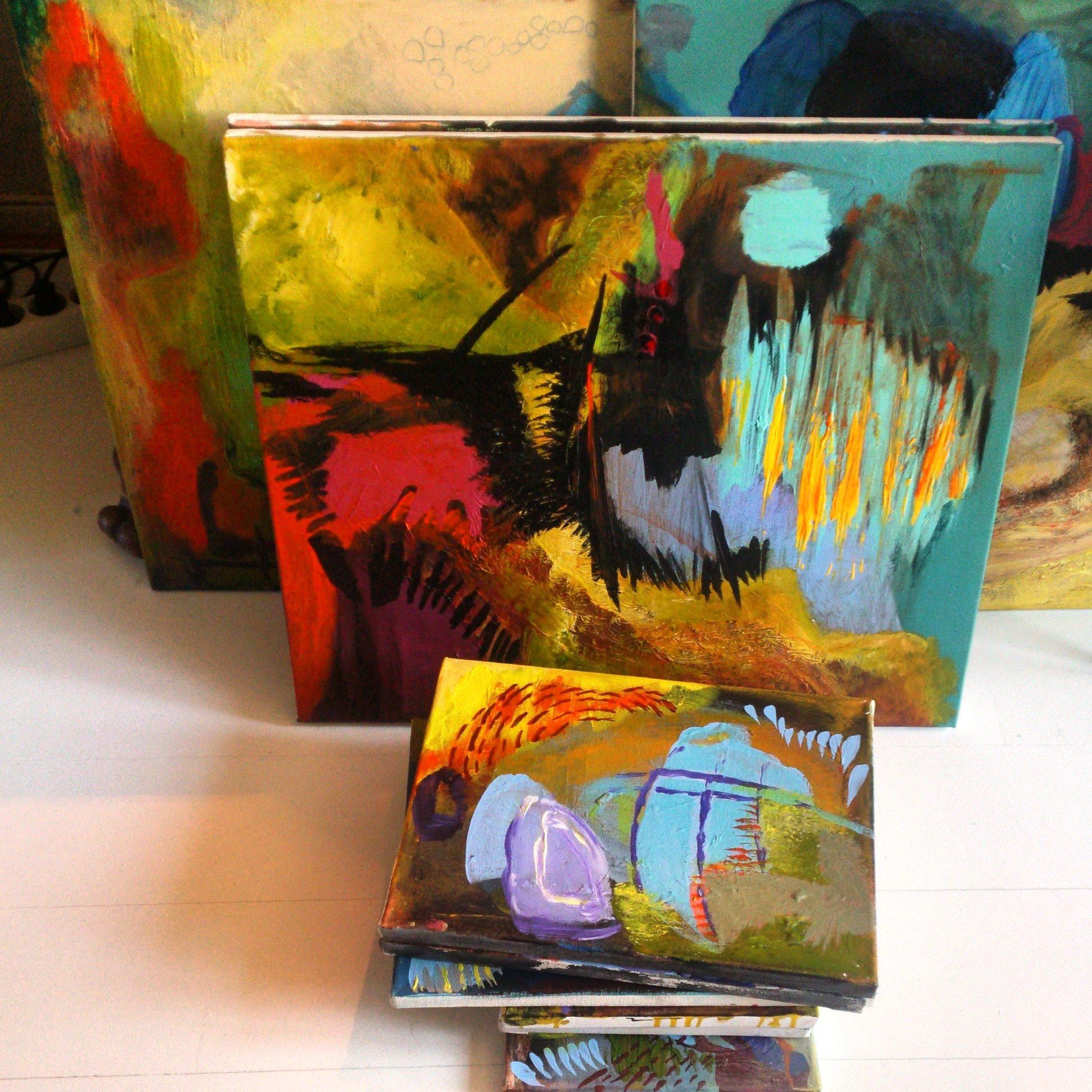 abstrakt kunst norge
