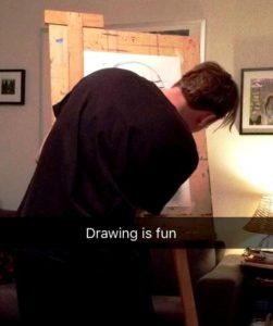 drawing is fun