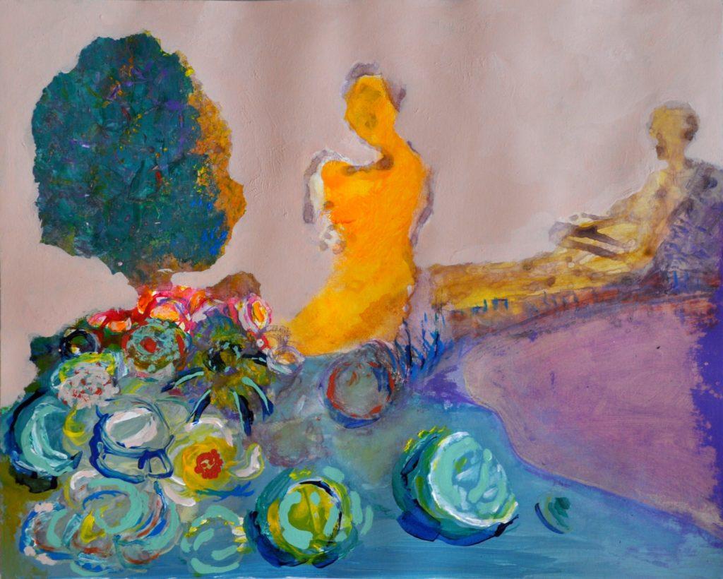 Intuitive painting is fun (c) art-by-rekkebo
