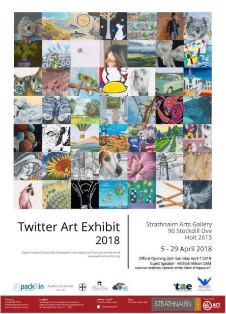 Twitter Art Exhibit 2018