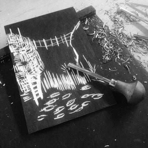 printmaking at Ekely part 2