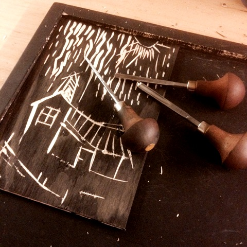 printmaking at Ekely part 2