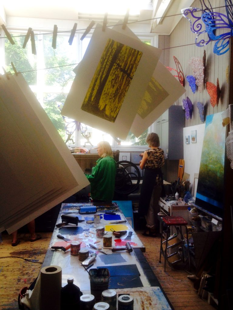 drying prints